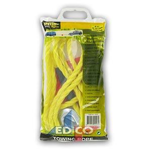Tažné lano Allride 10mm do 1800 kg s háky