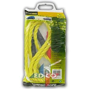Tažné lano Allride 14mm do 3000 kg s háky