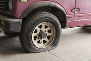 Letné pneumatiky: systém núdzového dojazdu