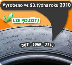Oficiálne vyhlásenie popredných výrobcov pneumatík. TROJROČNÁ PNEUMATIKA NIE JE STARÁ!