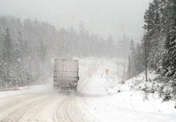 Ako bezpečne jazdiť na ceste v zime