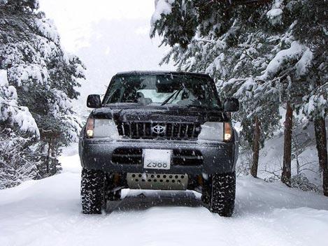 Udržte auto počas zimy pod kontrolou