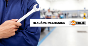 Hľadáme mechanika