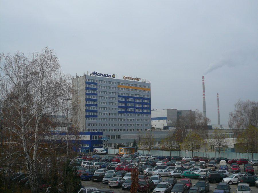 Továreň Barum v Otrokoviciach
