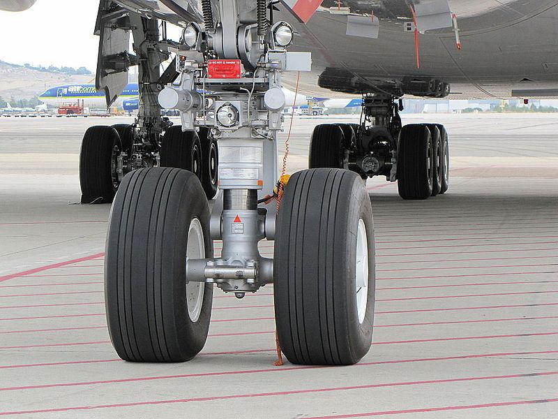Pneumatiky na podvozku Airbusu A380