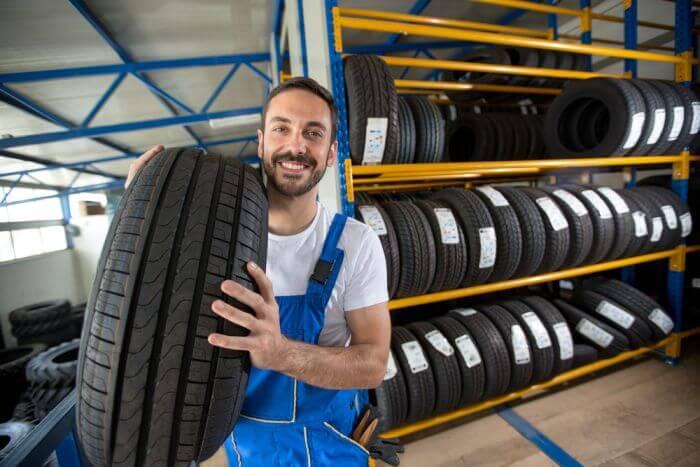 Nabídka pneumatik