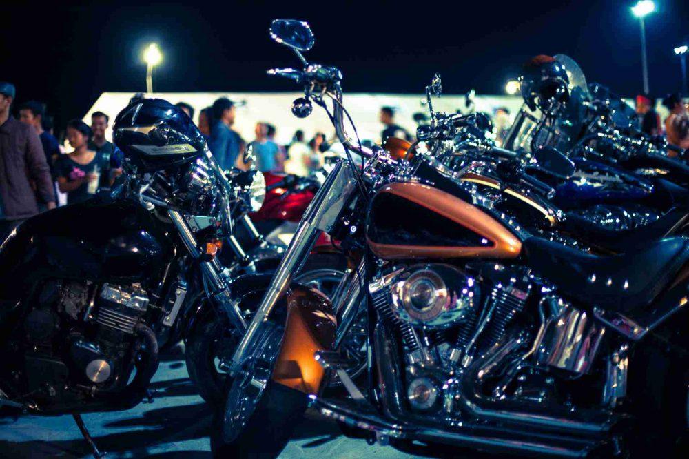 Výstava pro fanoušky motocyklů