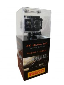 Outdoorová kamera 4K ULTRA HD