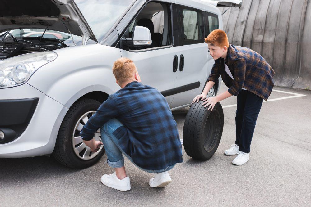 Výměna zimních pneu