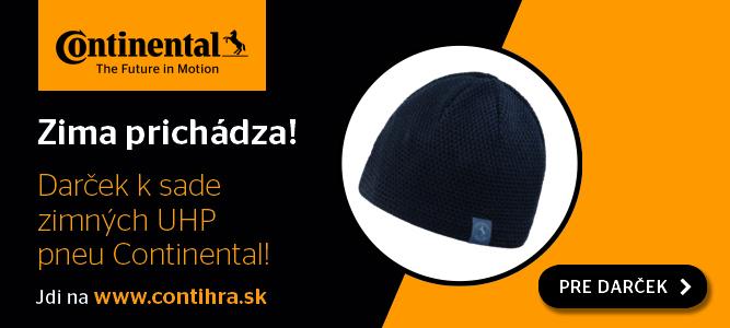 Contihra – darček zimná čiapka Continental