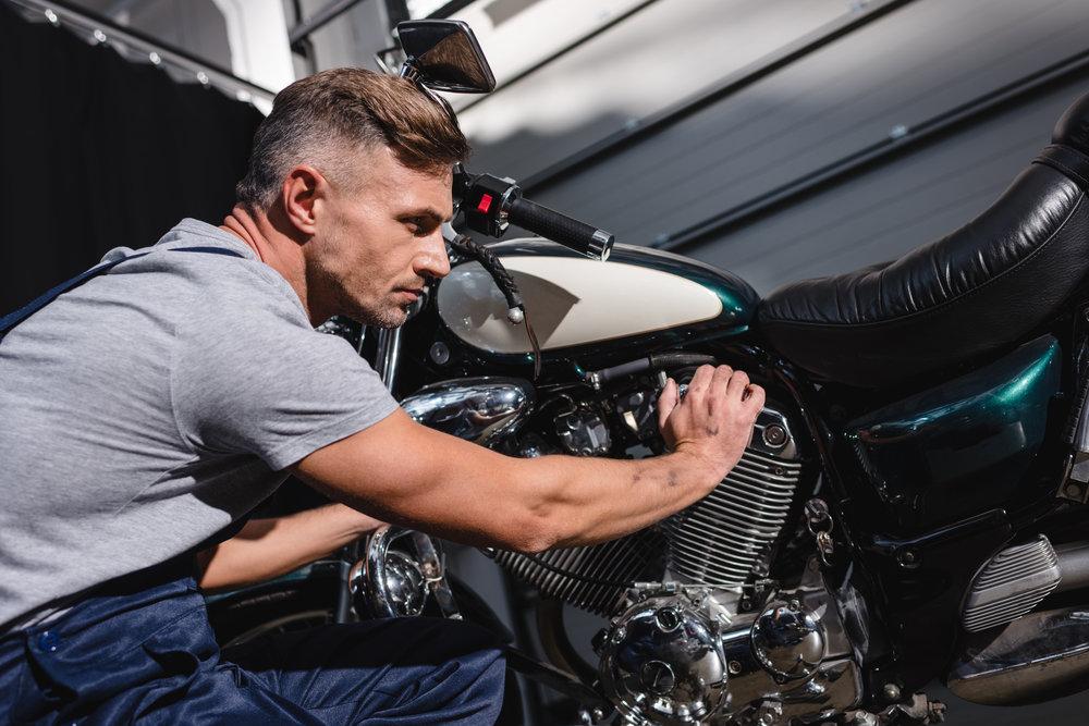 Frekvencia technickej kontroly týkajúca sa motocyklov v ČR