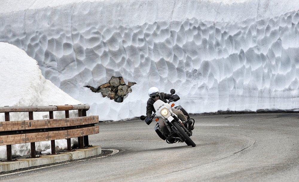 Ako si užiť zimnú jazdu na motorke