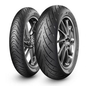 Predná a zadná motocyklová pneumatika Metzeler Roadtec 01 SE