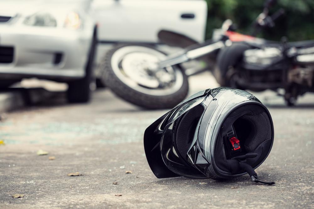 Zrážka motocykla s autom