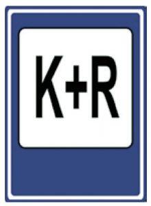 Dopravná značka Parkovisko K+R