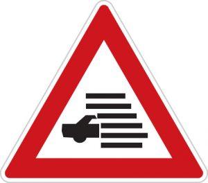 Dopravná značka Hmla