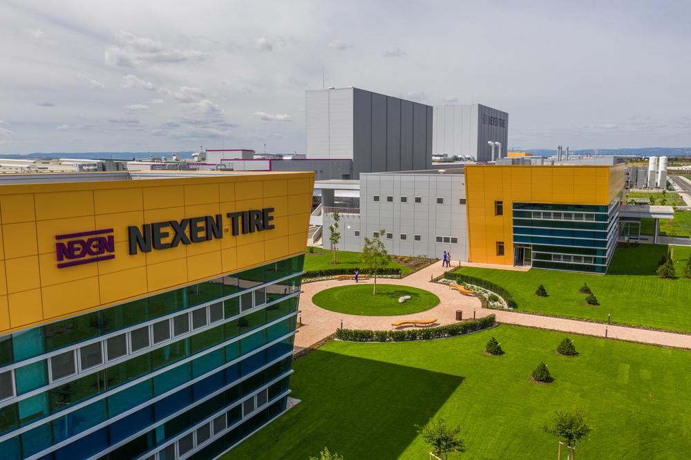 Moderný výrobný závod Nexen Tire v Českej republike
