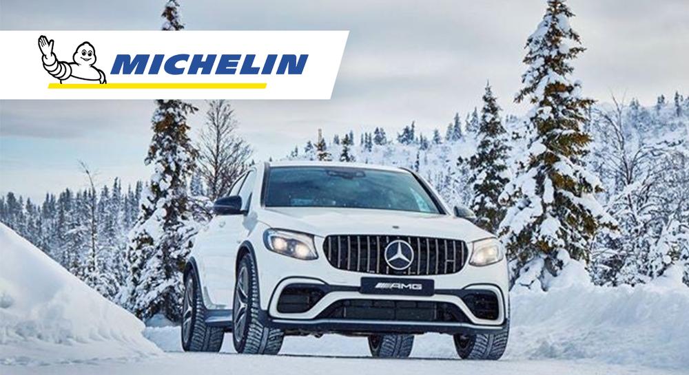 Auto s pneumatikami Michelin