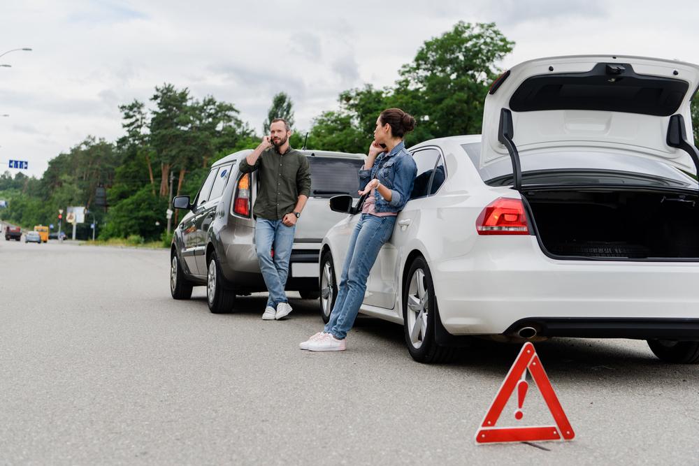 Výstražný trojuholník upozorní ďalších vodičov