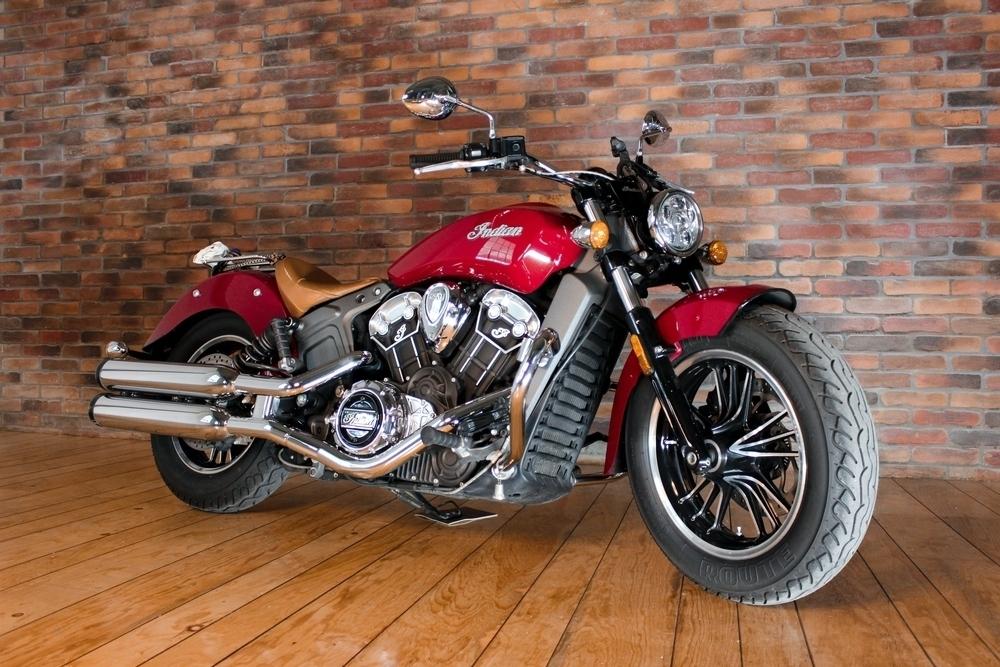 Motocykel značky Indian