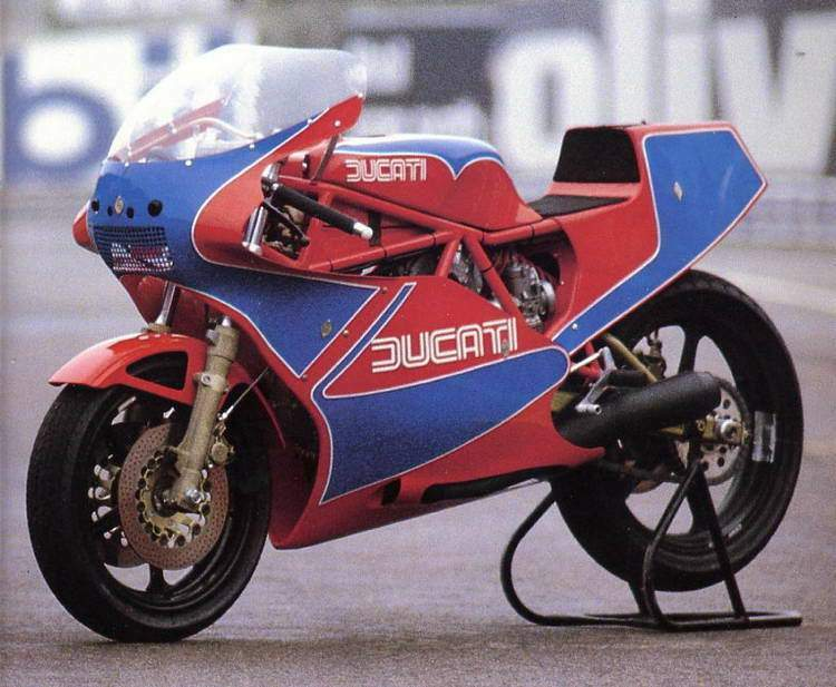 Motocykel Ducati 750 TT1