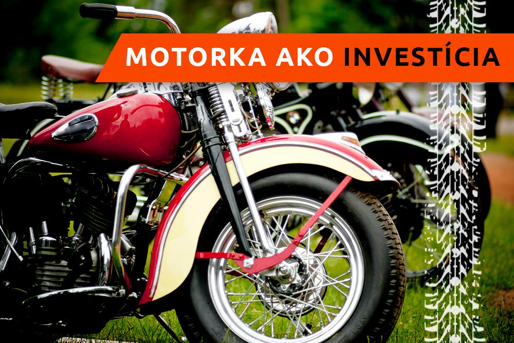 Luxusný motocykel na výstave