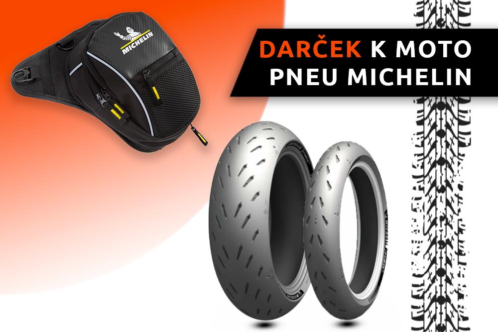 Motorkársky vak zadarmo k pneumatikám Michelin