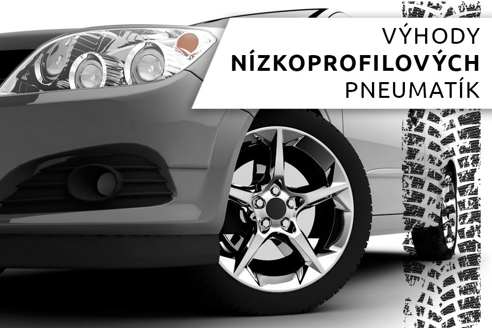 Vozidlo s nízkoprofilovými pneumatikami