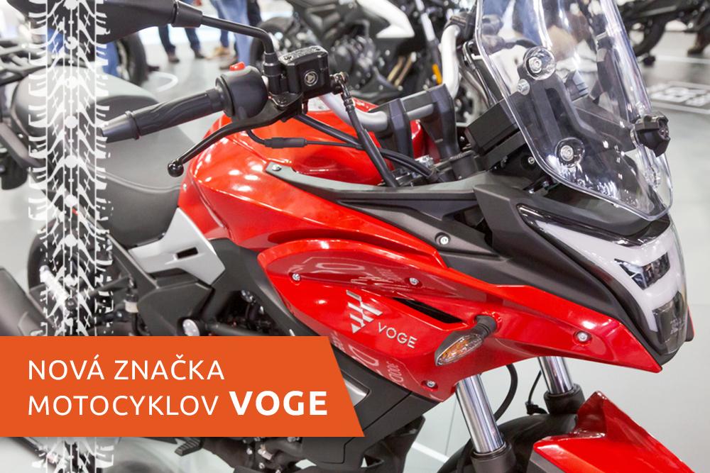 Motocykel novej značky Voge