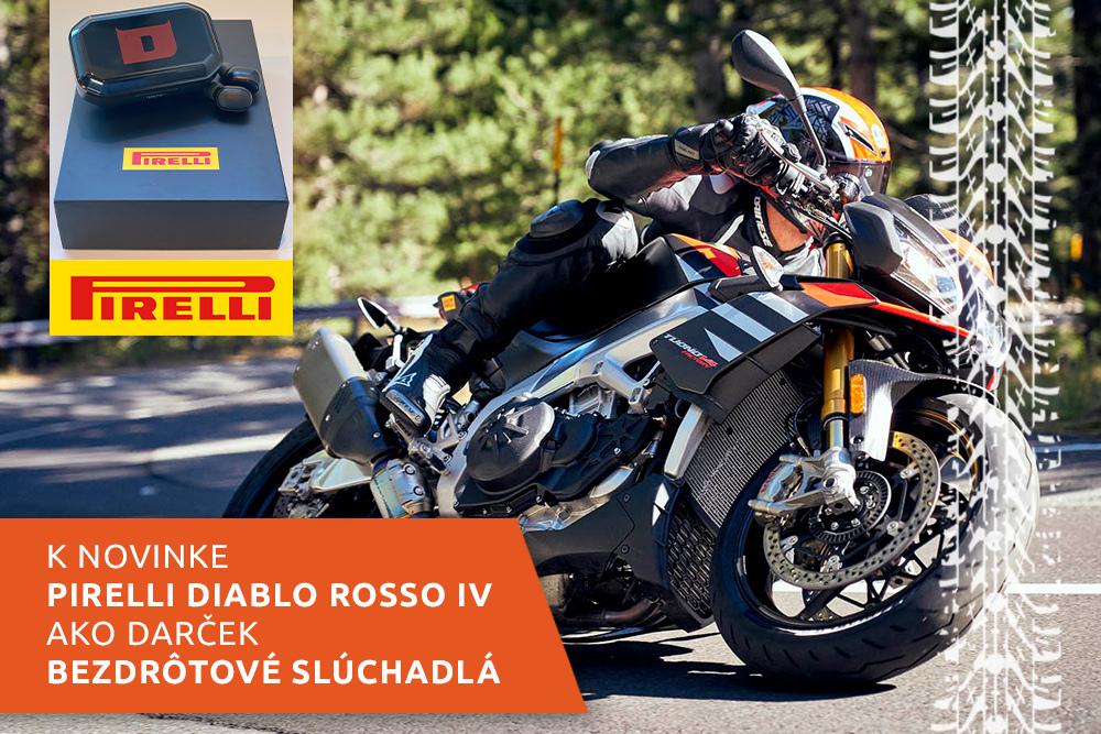 Cestný motocykel na pneumatikách Pirelli Diablo Rosso IV